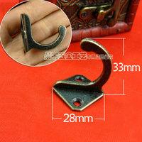 Square peg antique european-style coat hook hook Chinese modern hook hanging shoe ark of double hoo