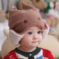 3326 autumn and winter hot-selling style cap parent-child cap child cap baby ear protector cap male female child plush hat