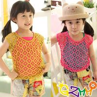 free shipping 3130 princess summer fashion casual t-shirt fashion children's clothing child two-piece short-sleeve T-shirt set