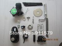80cc Bicycle Engine Kit, Black Engine A80