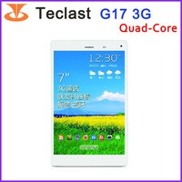 Original Teclast G17 3G Quad Core Tablet MT8389 1GB+8GB 7''inch IPS 1280*800 Built-in Bluetooth/GPS Support  Miracast/1080P/OTA