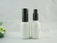50pieces/lot ,30ml white lotion bottle with pump,Cosmetic Packaging,cosmetic bottles,packing for liquid cream