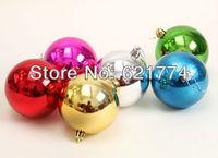 10 lot(6pcs/lot) 2014 New Beautiful Colors Plastic Light Ball Christmas Tree Decoration Wholesale Free Shipping