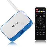 [Free Remote] Latest K-R42 MK888 RK3188 Quad Core TV Set Top Box Android 4.2 Mini PC 2GB RAM CS918 AV-out RJ45 External Antenna