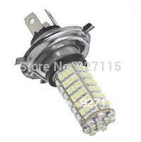 Free Shipping 30pcs Car H4 DC 12V 102 LED 3528 SMD Super White Auto Headlight Bulb Fog Lamp Light