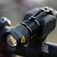 Wholesale Brand New 2014 CREE Q5 250 lumen LED Cycling bike BICYCLE HEAD Bright LIGHT Camping lamp With Mount