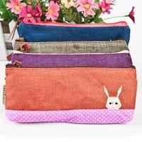 20pcs/lots Color block decoration vanilla pencil case/ brief fresh  girls  pencil cases
