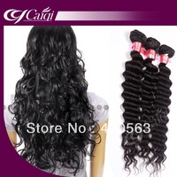 DHL free shipping,unprocessed Virgin brazilian remy curly human hair,1b natural color 4pcs/lot 10-30inch