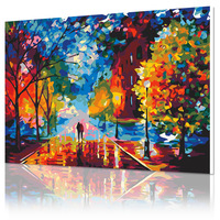 Digital oil painting diy lovers married 40 50 decorative painting