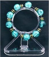 Circle card plastic jewelry storage box display rack accessories stacking shelf bracelet display rack