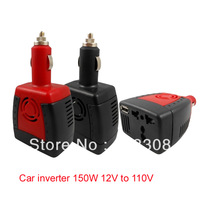 150W Car inverter 12v to ac 110v power converter  Free Shipping.