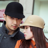 2013 Thantrue woolen hat autumn and winter wide brim hat male small fedoras cap Free shipping