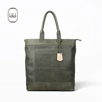 Kilikili series vintage retro finishing 100% patchwork leather simple genuine leather one shoulder handbag