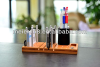 New hot selling Creative Bamboo desk organizer/desk tidy/desk storage/desk helper/office organize system