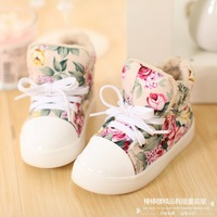 2013 new fashion children sneakers princess girl shoes