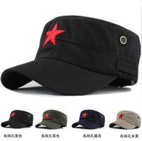 2014  five-pointed star hat vintage baseball sun hat cadet military cap hat autumn and winter  free  shipping