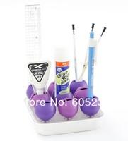 EMS Free Shipping 144 pcs/lot DUO Multifunctional Rosebud Desk Organizer Tray Geek Alert Nice Price