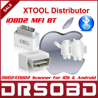 100% Original XTOOL iOBD2 MFI BT OBD2 / EOBD2 Scanner for IOS and Android Bluetooth communication auto code reader