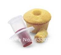 1* Kitchen Cupcake Muffin Cake Corer Plunger Cutter Pastry Decorating Divider Model