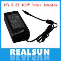 Free Shipping AC 100-240V to DC 12V 8.5A Power Adapter Supply Charger For LED Strips Light