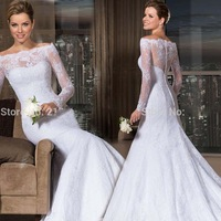 Vintage Victorian Style Cap Sleeves Lace Covered Back Princess Bridal Ball Gown Wedding Dresses 2014
