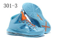 Hot!Free shipping LeBron 10 men basketball shoes 2012 Sneakers accept mix order!