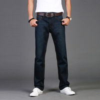 Plus size spring denim trousers men's clothing straight male casual jeans trousers 935 - 58