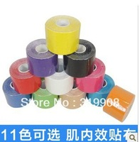 kinesiology Kinesio Tape / Pure cotton, Therapy Muscle Tape ,Waterproof/Sports Safety sports tape bandage 5CM*5M