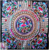 2014 New Embroidery fabrics Embroidered cloth