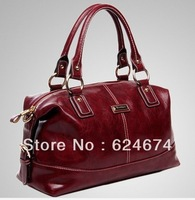 New 2013 Handbags Fashion Vintage Genuine Cowhide Leather Women Handbag Totes Women Messenger Bags Shoulder Bag