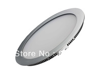 "10"" round & recessed LED down light, triac dimmable, 15Watt led panel light"
