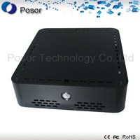 Factory outlets: Super power ultra desktop computer POS pc firewall server 52R-4 :CPU D525 Dual core 1.8GHz/RAM 4GB/ SSD 64GB