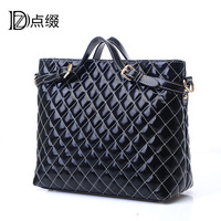 Interspersion 2013 women's handbag women's handbag big bag women's bags fashion vintage bag fashion plaid bag
