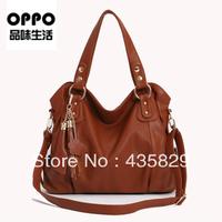 2014 For oppo  one shoulder cross-body portable women's handbag tassel pendant totes handbag