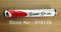 Extra Coarse golf putter grip free shipping, Color: Red + White(5.0)