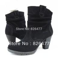 New 2014 high heel boots for women boots platforms plus size women shoes woman fashion platform pumps thick heel martin boots