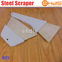 Free shipping C-A25 high quality steel industry and floor scraper 2pcs with different size in one set
