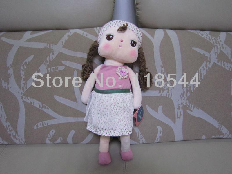 christmas gifts birthday present birthday gift stuffed toys plush angela soft metoo angela one piece free shipping(China (Mainland))