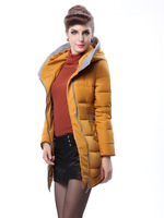 Free Shipping! Brand Fashion Duck Coat 2013 new Parka Winter down Coat Women Nantes Long Sale Jackets