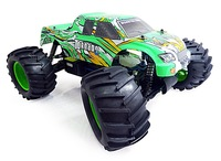 Gift Original HSP Baja TORNADO 1/8th Scale Nitro Off-Road Monster Truck 1:8 4WD Car 94083 RTR With 2.4G  Transmitter