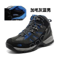 Men's cross-country winter hiking shoes waterproof non-slip shoes high help