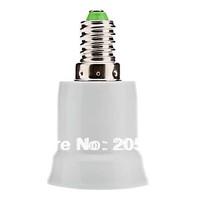 5pcs E14 to E27 Extend Base LED Light Bulb Lamp Adapter Adaptor Converter