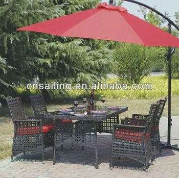 All Weather Rattan Garden Furniture Dining Set