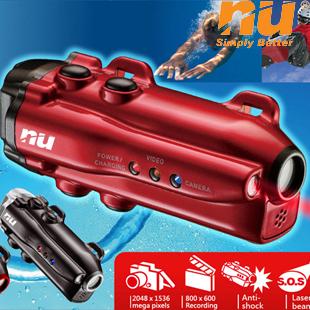 Nu diver mini submersible digital camera underwater snorkel(China (Mainland))