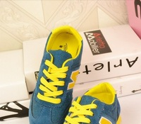 Letters hanN2013 edition shoes sport casual shoes modified low help shoes chalaza gump tide female canvas shoes in the autumn