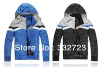 free shipping 2013 new brand men jacket sportswear fashion jacket tracksuit sports suit hoody leisure wear