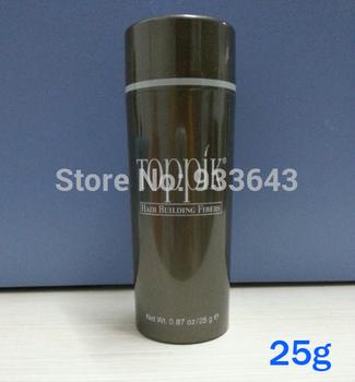 TOPPIK brand hair growth product Hair Fibers protector Natural powders 25g 1pcs hair ...