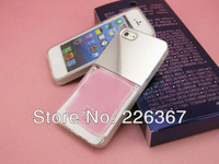 Retail box! New Arrival For iphone 4&4s 5 5g case 3D Luxury LE VERNIS Nail Colour Polish Silicon TPU cover