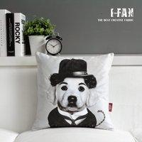 Creative Chaplin cartoon cushion Plush pillow cover pillow cushion cover sofa cushions Car Cushion birthday gift 45cm*45cm