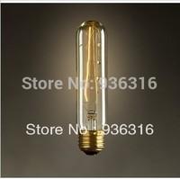 Free shipping E27 40w edison light bulb Drawing bulb tungsten wire light bulb nostalgic vintage decoration bulb light source